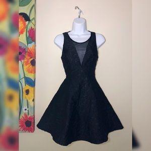 ASTR the Label | Mesh Jacquard fit & flare Dress